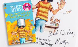 The Boy with the Saucepan Hat by Martyn Harvey - £5 Donation to Brain Tumour Research