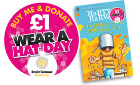 The Boy with the Saucepan Hat by Martyn Harvey - £1 Donation to Brain Tumour Research